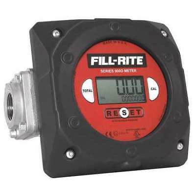 Meter,Digital, 1 In,6 to 40 GPM FILL-RITE 900CD