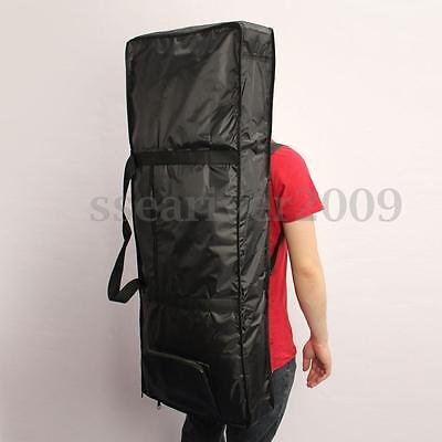 61 Key Electric Piano Keyboard Bag Case Cover Thick Padded With Shoulder Strap