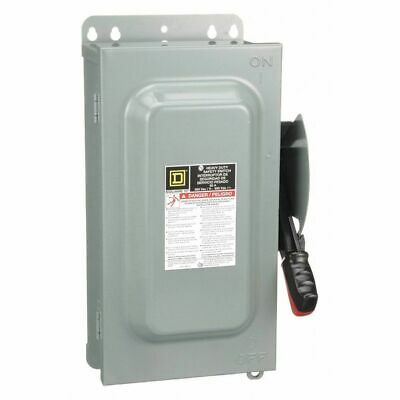 Square D 60 Amp 600VAC Single Throw Safety Switch 3P, H362AWK
