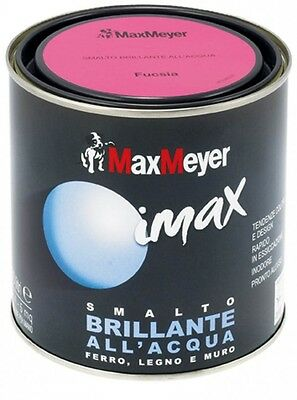 Max Meyer Imax Smalto Brillante All'Acqua 125ml ferro-legno-muro Inodore Pittura