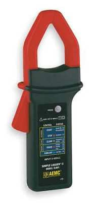 Clamp On AC Current Logger,0 to 600 A AEMC CL601