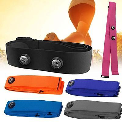 Elastic Chest Belt Strap pour Wahoo Garmin Polar Sport Heart Rate Monitor DD