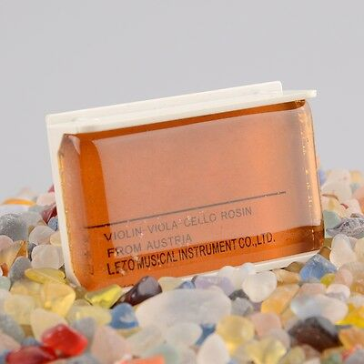Natural Light Rosin For Violin Viola Cello Strings Orchestra Amber High Quality