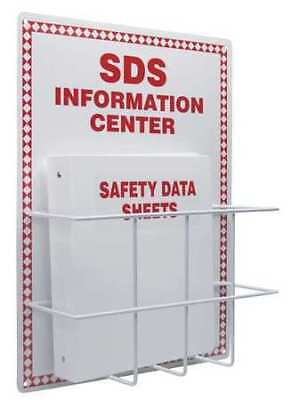 ACCUFORM SIGNS ZRS407 SDS Information Center Kit, 20x15 In