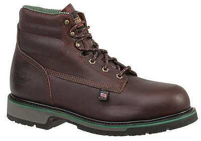 Size 13 Work Boots, Unisex, Brown, Steel Toe, E, Thorogood Shoes