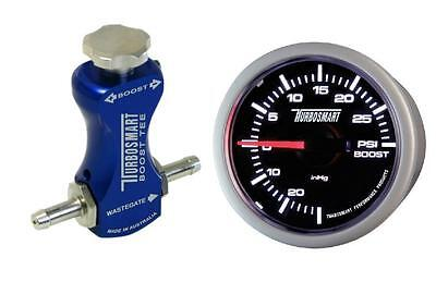 Turbosmart Blue Manual Boost Controller and Turbosmart 52mm Boost Gauge PSI