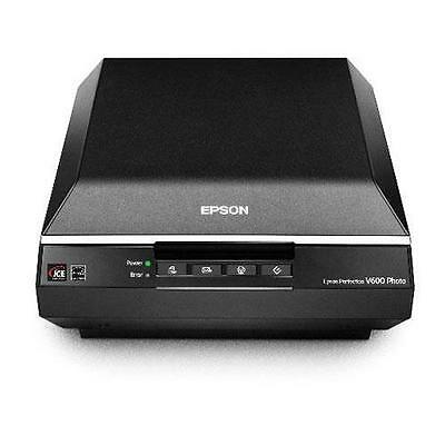 "Epson Perfection V600, Flatbed 8.5x11.7"" Photo Scanner - Refurbished by Epson"