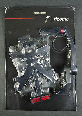 New Rizoma For Ducati Monster 1100/ Evo 1100/ S/796 Supp Plate Fox Bl Pt512B  Gb