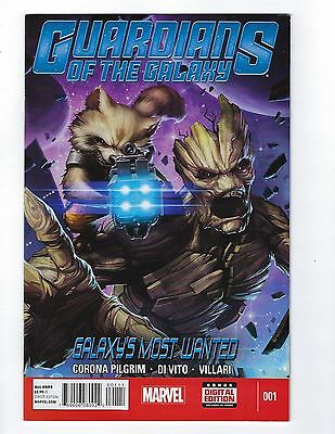 Guardians of Galaxy # 1 Marvel Galaxy's Most Wanted 1st Print NM