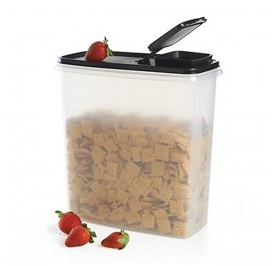 Tupperware Super Cereal Storer With Black Seal