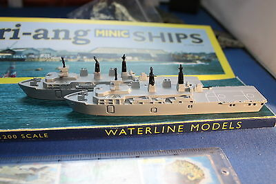 SALE two Albion class assault ships unboxed unused. Triang