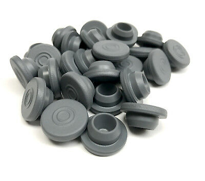 20mm butyl rubber stoppers / self healing injection ports / liquid culture lids