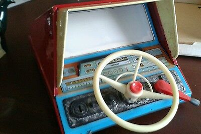 Vintage Battery Operated Toy Bandai Simulator Driving Scope.  Boxed and Working
