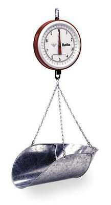 CHATILLON 0740DD-T-CG Mechanical Hanging Scale, Dial, 7 In. L