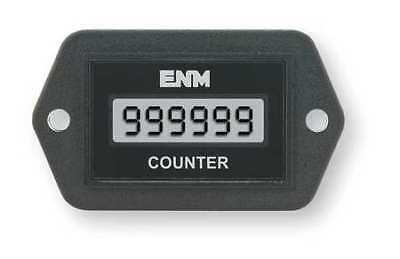 ENM C1121BB Electronic Counter, 6 Digits, LCD
