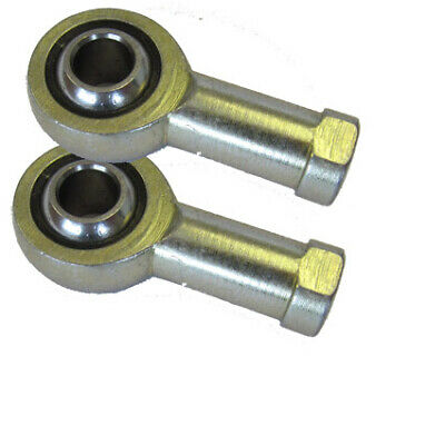 Pair of M8 R/H Female Kart Track Rod Ends (8mm) Right Hand