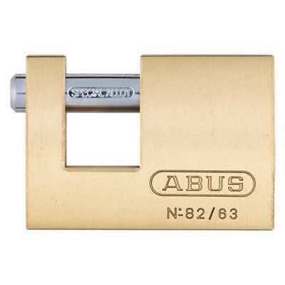 ABUS 82/63 KA U-Shaped Keyed Padlock, 9/16 In H, Alike