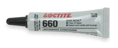 Retaining Compound,QuickMetal(R),6mLTube 660(TM) LOCTITE 209765