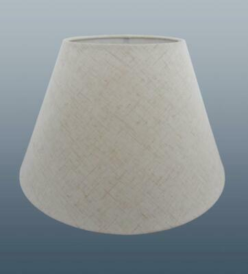 Cream Beige Flecked Cotton Coolie Lampshade Table Floor Lamp Ceiling Light Shade