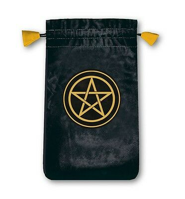 Lo Scarabeo Velvet Pentacle Tarot Bag for Miniture Cards