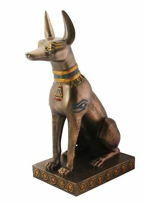 Anubis Egyptian Statue Sculpture Figure- HOME DECOR