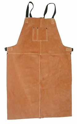 Condor Welding Bib Apron, Leather, 5T179