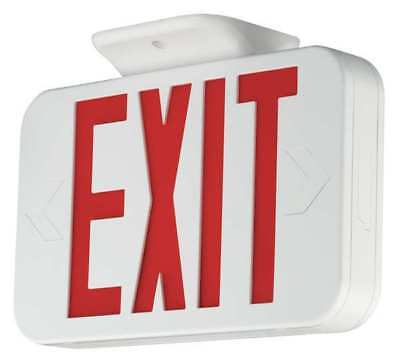 Hubbell Lighting COMPASS Thermo Exit Sign/ Battery Backup, CERRC