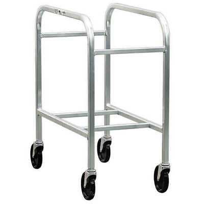 2 Tier Lug Container Dolly, Silver ,New Age, 6266