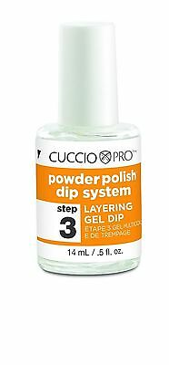 CUCCIO POWDER POLISH ACRYLIC DIP SYSTEM - LAYERING GEL 14ml  (step 3)