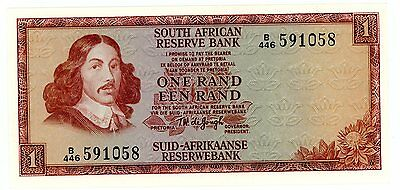 South africa … P-109b … 1 Rand … ND(1972) … *UNC*