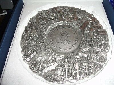 Royal Selangor Fellowship  of the Ring Collector's Pewter Plate new