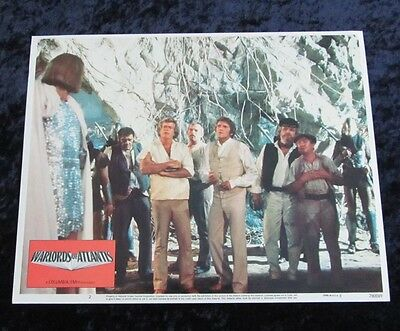 WARLORDS OF ATLANTIS lobby card #2 PETER GILMORE, DOUG McCLURE