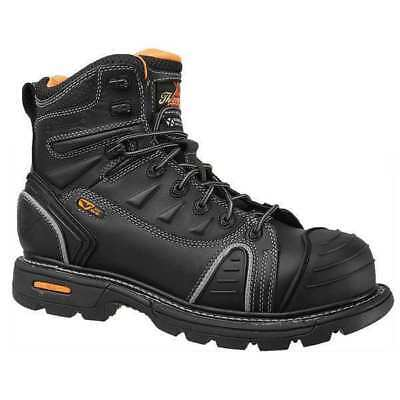 Size 13 Work Boots, Men's, Black, Composite Toe, M, Thorogood Shoes