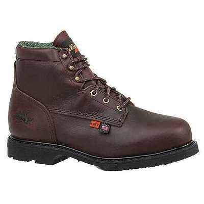 Size 10-1/2 Work Boots, Men's, Brown, Steel Toe, D, Thorogood Shoes