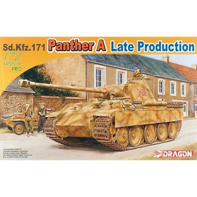 NEW Dragon Models 1/72 Sd.Kfz.171 Panther A Late Production 7505