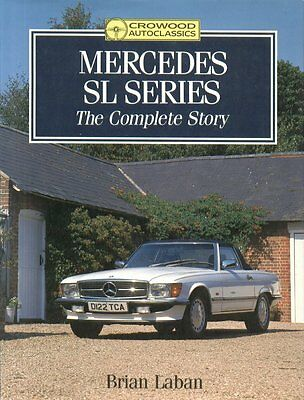 Mercedes Benz Gullwing Pagoda 190 Sl R107 R129 1954-1992 Production History Book