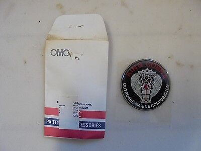 New Oem Omc 0912608 King Cobra Emblem Nla