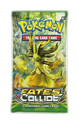 Pokemon TCG, XY 10 Fates Collide 1 Booster Pack , New & Sealed