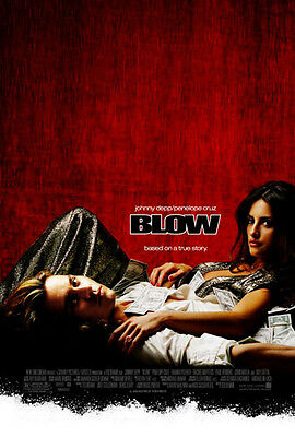 BLOW MOVIE POSTER (61x91cm) JOHNNY DEPP PENELOPE CRUZ PICTURE PRINT NEW ART