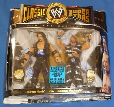 Shawn Michaels & Kevin Nash Diesel Signed WWE Classic Action Figure PSA/DNA COA
