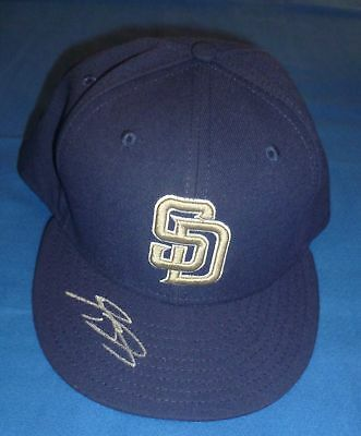 Kyle Blanks 2010 Game Used Signed Padres Hat PSA/DNA
