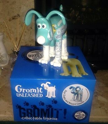 Gromit Unleashed Figurine - ship shape and bristol fashion  - Brand New In Box