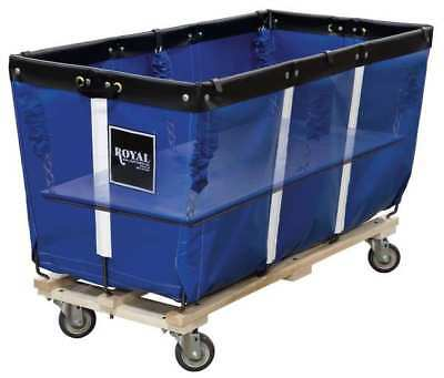 "Flatwork Ironer Truck,50"",Blue Vinyl"