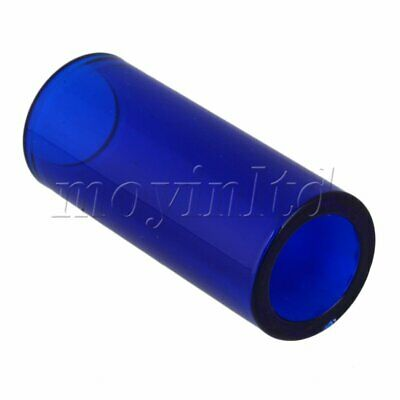 Guitar Accessories High Boron Glass Slide Tube Dark Blue 6.7x2x2.5cm