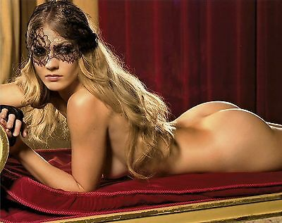 Winter Ave Zoli Sons of Anarchy Lyla Playboy 8x10 Photo Picture With Lace Mask