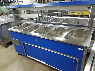 37050 Vollrath 5 Well Electric Steam Table Buffet - Used