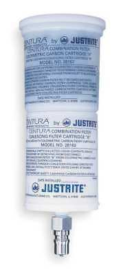 JUSTRITE 28162 Coalescing/Carbon Filter, Polyethylene