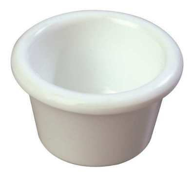 White Smooth Ramekin, White ,Carlisle, S27502