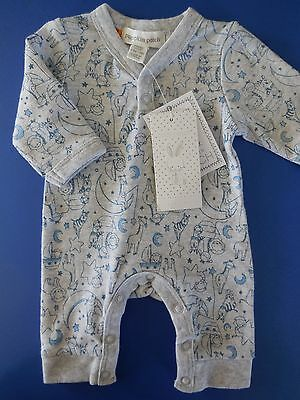 'pumpkin Patch' Baby Boy Coverall All In One Size 00000 Prem *new *gift