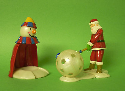Kinder Surprise Large Santa Golf Game
